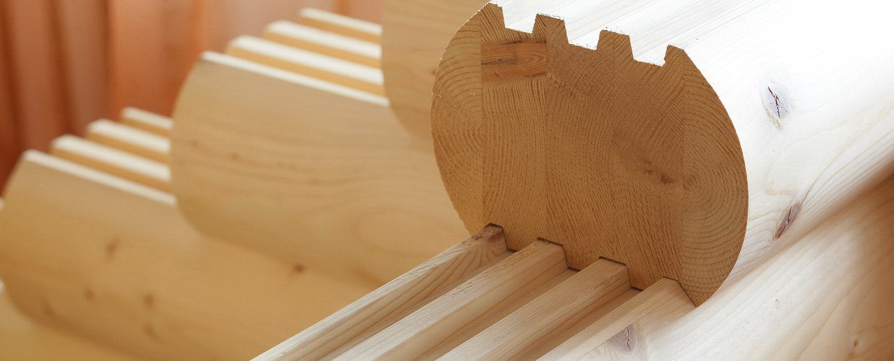 Manufacturing technology of glued timber for wooden houses